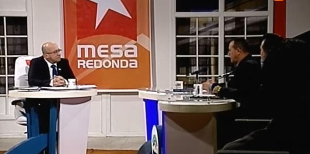 Captura de pantalla de la Mesa Redonda transmitida desde Holguín el 24 de enero de 2020.