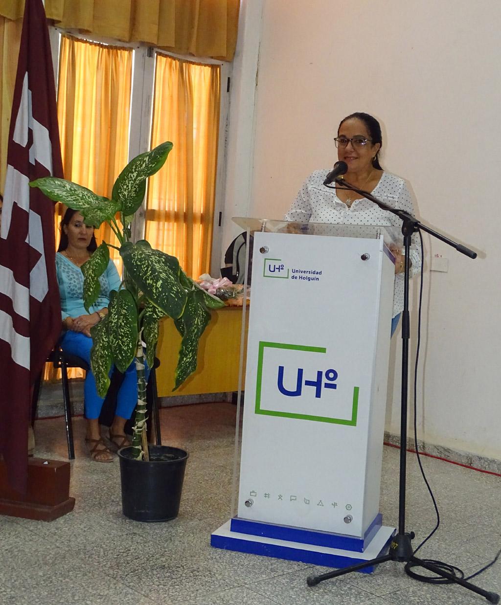 Cambio de mando de la Dirección general económica de la Universidad de Holguín
