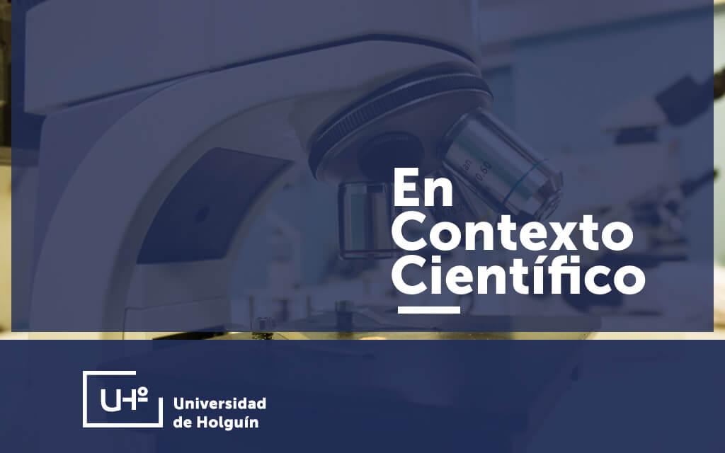 EN CONTEXTO CIENTÍFICO, continuamos con el ciclo dedicado a la información científica y académica.