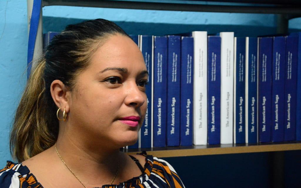 Daynelis García Fernández, metodóloga del Departamento Editorial.