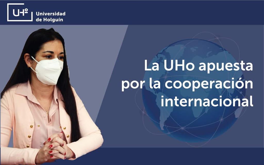 Dr. C. Jenny Ruiz de la Peña, directora de Relaciones Internacionales en la Universidad de Holguín